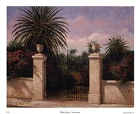 Palm Gate I Fine-Art Print