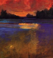 Sunset Lake Fine-Art Print