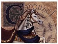 Carousel Horses I Fine-Art Print