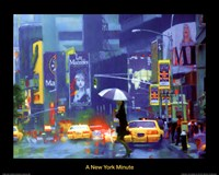 New York Minute Fine-Art Print