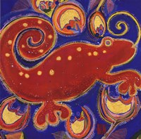 Cameleon Rouge Fine-Art Print
