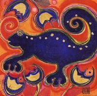 Cameleon Bleu Fine-Art Print