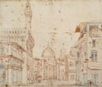 Firenze Perspective Fine-Art Print