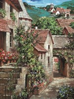 Italian Country Village I Fine-Art Print