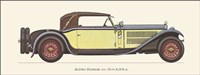 Austro-Daimler 1931 Framed Print