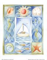 Seaside Boat Fine-Art Print