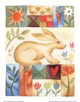 Rabbit Quilt Fine-Art Print