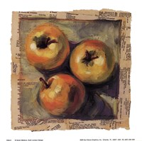 3 Yellow Apples Fine-Art Print