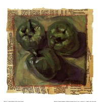 Three Green Peppers Fine-Art Print