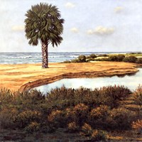 Low Country Beach I Fine-Art Print