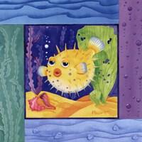Seafriends-Blowfish Fine-Art Print