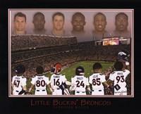 Little Buckin' Broncos Fine-Art Print