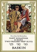 Hart Two Trouser Fine-Art Print
