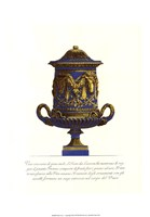 Blue Urn I Fine-Art Print