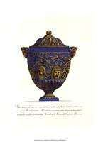 Blue Urn III Fine-Art Print