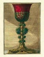 Red Goblet I Fine-Art Print