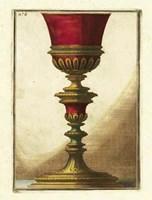 Red Goblet IV Fine-Art Print