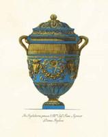 Blue Urn IV Fine-Art Print