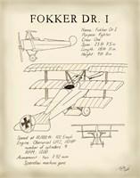 Fokker Dreidecker Fine-Art Print
