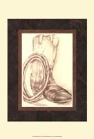Sepia Boots II (HI) Fine-Art Print