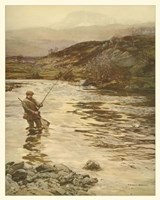Trout Fishing Fine-Art Print