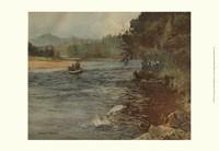 Salmon Fishing Fine-Art Print
