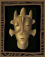 African Mask II Fine-Art Print