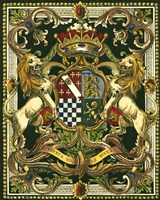 Crest on Black II Fine-Art Print