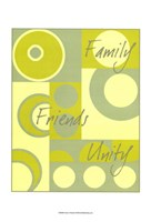 Circle of Friends I Fine-Art Print