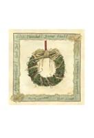 Raffia Wreath I Fine-Art Print