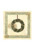 Raffia Wreath II Fine-Art Print