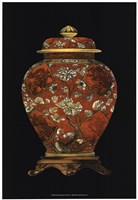 Red Porcelain Vase (P) II Fine-Art Print