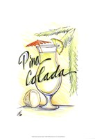 Drink up...Pina Colada Fine-Art Print