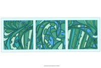 Aqua Fission I Fine-Art Print