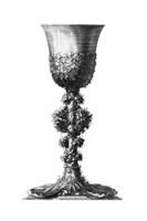 Black & White Goblet II (SC) Fine-Art Print