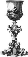 Black & White Goblet III (SC) Fine-Art Print