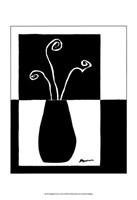 Minimalist Flower in Vase I Fine-Art Print