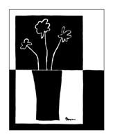Minimalist Flower in Vase II Fine-Art Print
