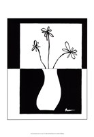 Minimalist Flower in Vase IV Fine-Art Print
