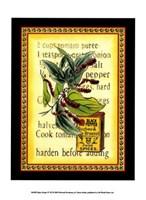 Spice Recipe IV Fine-Art Print