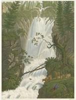 Tranquil Cascade I Fine-Art Print