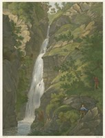 Tranquil Cascade II Fine-Art Print