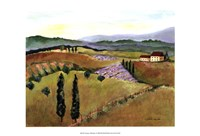 Tuscany Afternoon I Fine-Art Print