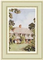 A Charming West Indian Plantation House Fine-Art Print