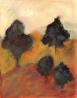 Printed Sonoma Hills I Fine-Art Print