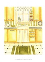 Retro Kitchen I Fine-Art Print
