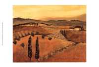 Golden Tuscany Afternoon I Fine-Art Print