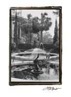 Garden Fountain II Fine-Art Print