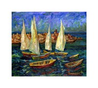 Sails in the Bay Fine-Art Print