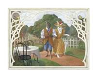 Rabbit's Picnic Fine-Art Print